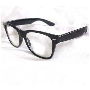 Faux Wayfarer Glasses